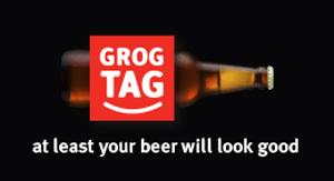 GrogTag Custom Labels Logo